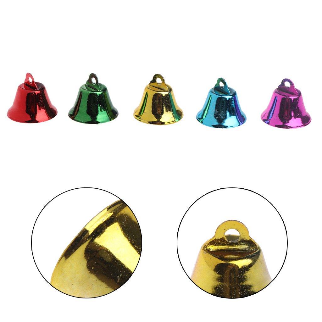 haia7k4k 10 UNIDS Pet Bird Bells Campanas de Viento para Loro Juguete DIY Acero Inoxidable