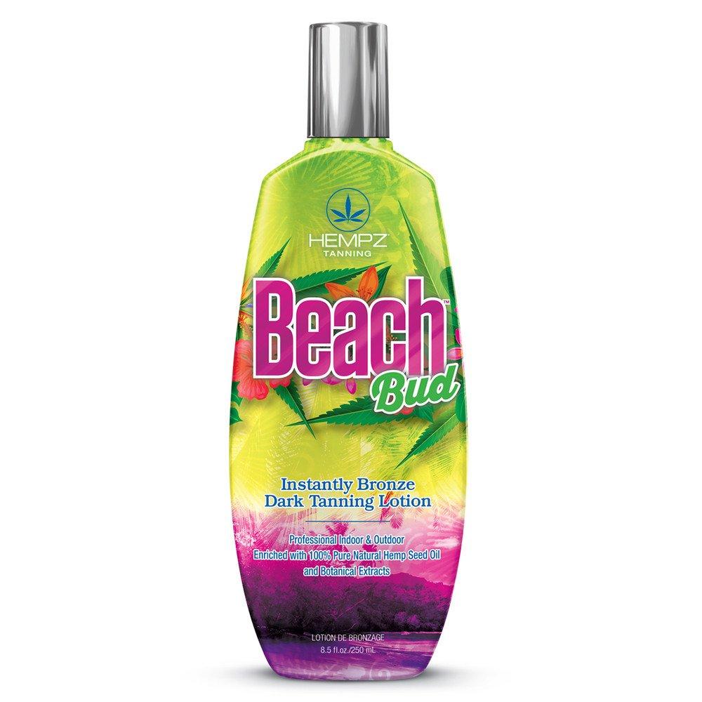 Hempz Beach Bud Instant Bronzer Tanning Lotion 8.5 oz