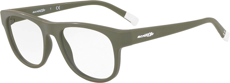 ARNETTE mens An7170 Fitzroy Rectangular Eyeglass Frames Rectangular Prescription Eyeglass Frames