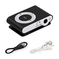 BuycheapDG Clip MP3 Player, Portable Mini Metal USB MP3 Support 32GB Micro SD TF Card