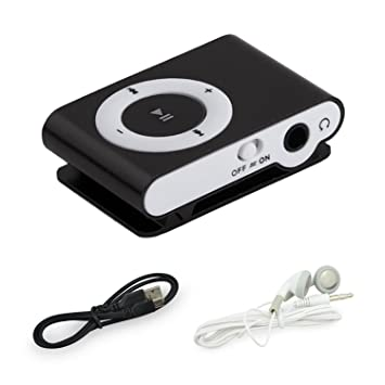 BuycheapDG - Reproductor MP3 con Clip, portátil, Mini USB ...