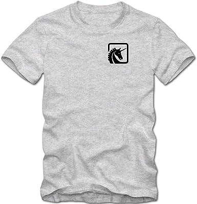 Unicornio Logo Camiseta | Hombre | Unicornio | Logo | Magia | Caballo | T-Shirt: Amazon.es: Ropa y accesorios