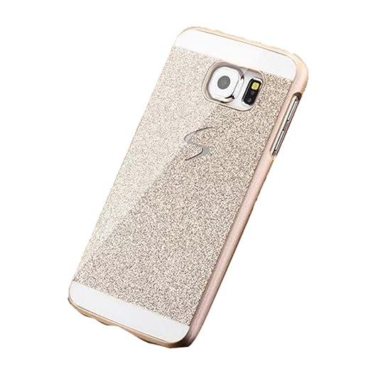 4 opinioni per Amison per Samsung Galaxy S6, lusso Diamond strass custodia Cover(Oro)