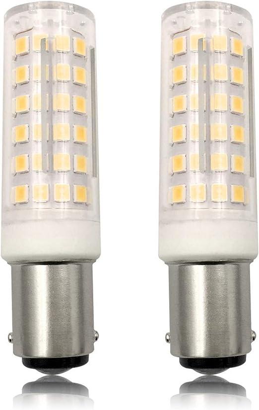 Bombilla LED SBC B15 de bayoneta pequeña de 220 V 6 W (60 W), luz ...