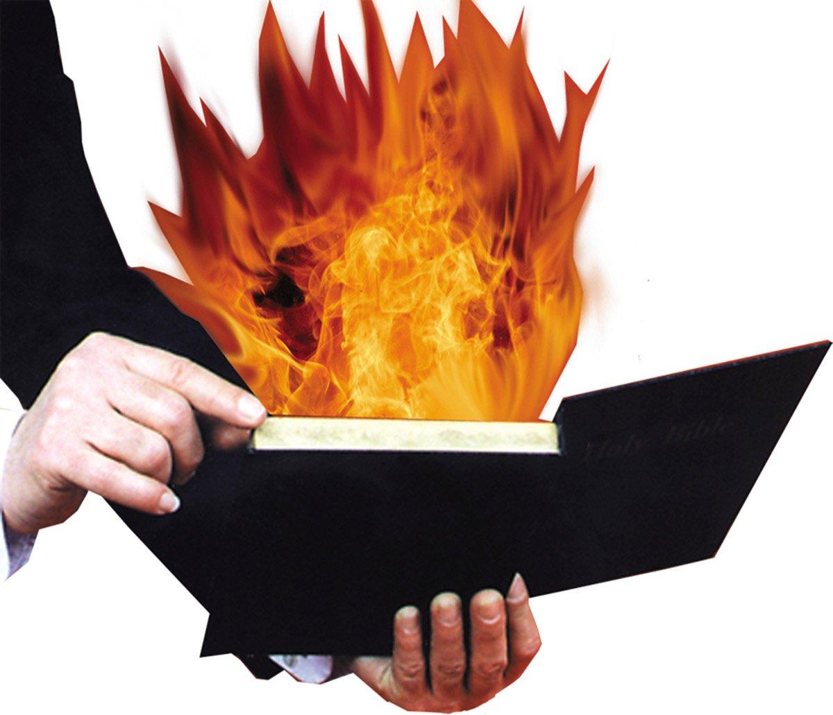 Morris Costumes Burning Book