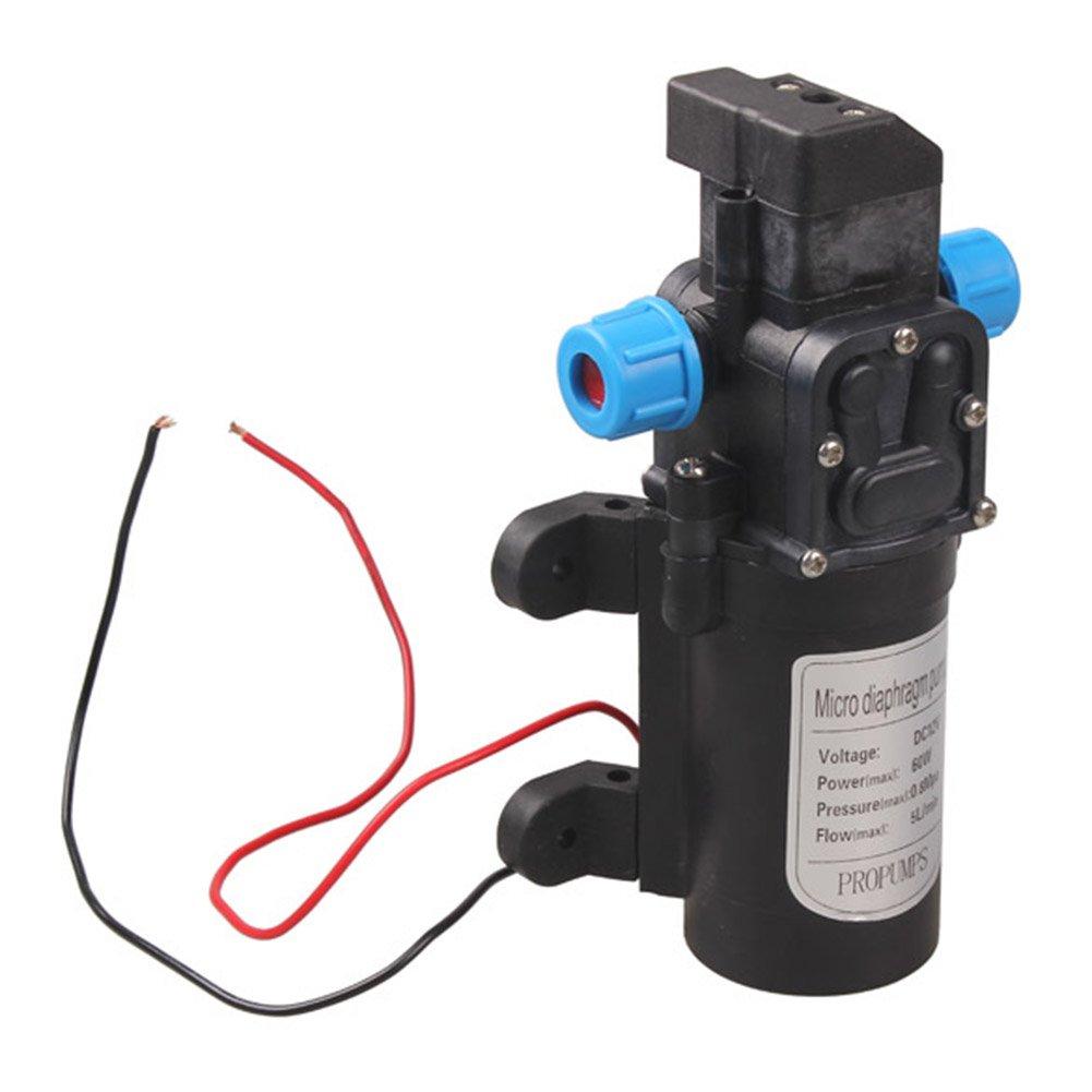 Powlance DC 12V 60W High Pressure Micro Diaphragm Water Pump Automatic Switch 5L//min