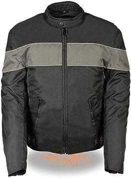 NexGen SH212101-4X-BLK//GREY Mens Nylon Jacket Black//Grey, 4X-Large