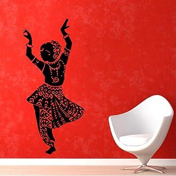 Mhdxmp Mujer India Danza Del Vientre Pegatinas De Pared ...