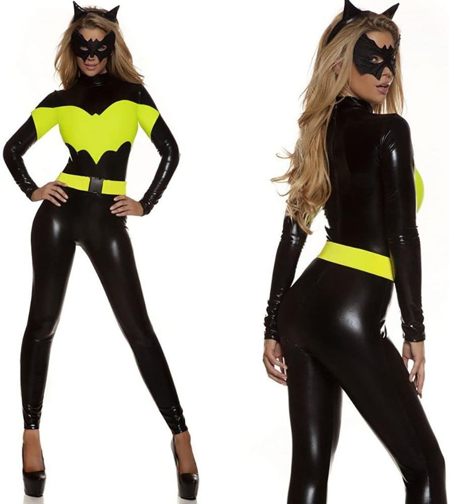XDB Lencería Mujer Mono Disfraz de Disfraz de superheroe Gato ...