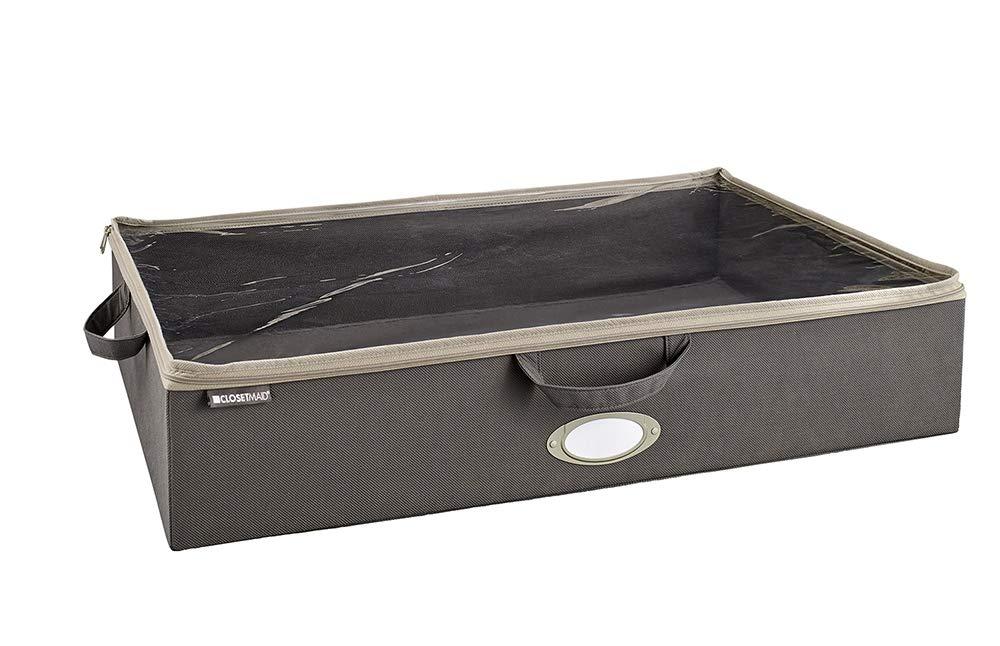 ClosetMaid 31495 Under-Bed Fabric Storage Bag, Gray by ClosetMaid