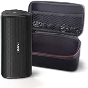 AY 30W Bluetooth 5.0 Portable Speakers with Hard Case, IPX7 Wireless Speakers Waterproof Super Bass Sound 360 ° with TWS, 24H-Playbtime Perfect for Parties, Outdoors and Travel.