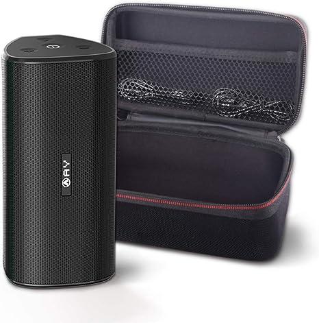 Altavoces portátiles AY 30W Bluetooth 5.0 con Estuche rígido, Altavoces inalámbricos IPX7 a Prueba de Agua, Sonido súper bajo 360 ° con TWS, 24H-Playbtime Fiestas, Aire Libre y Viajes.: Amazon.es: Electrónica
