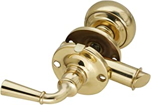 National Hardware N216-614 V1953 Storm Door Latches - Solid Brass in Brass