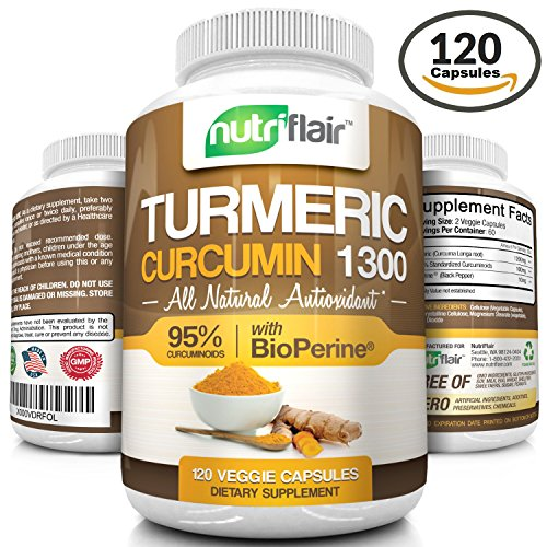 Best Quality Turmeric Curcumin Supplements Reviews 2016 - cover