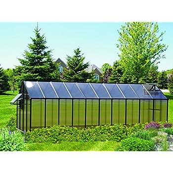 Amazon.com: Monticello MONT-8-BK - Invernadero: Jardín y ...
