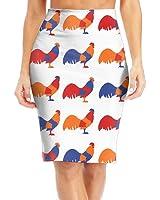 BaodaooChicken Slim Vintage Pencil Skirts For Women High Waist Pencil Skirt Short Fitted Mini Skirt Bundle Packs