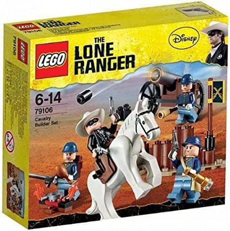 Lego Lone Ranger Disney 79106 Cavalry Builder Set New in Box Special Gift Fast Shipping and Ship Worldwide