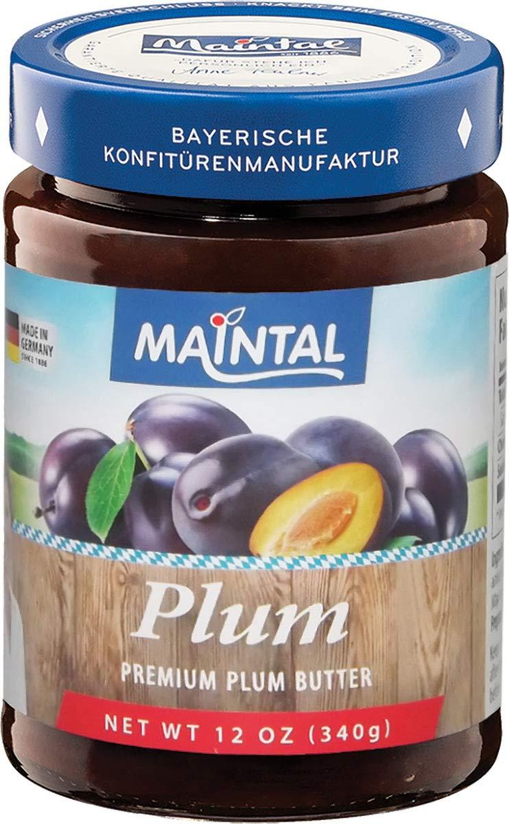 Maintal Premium Plum Butter, 12 Ounce