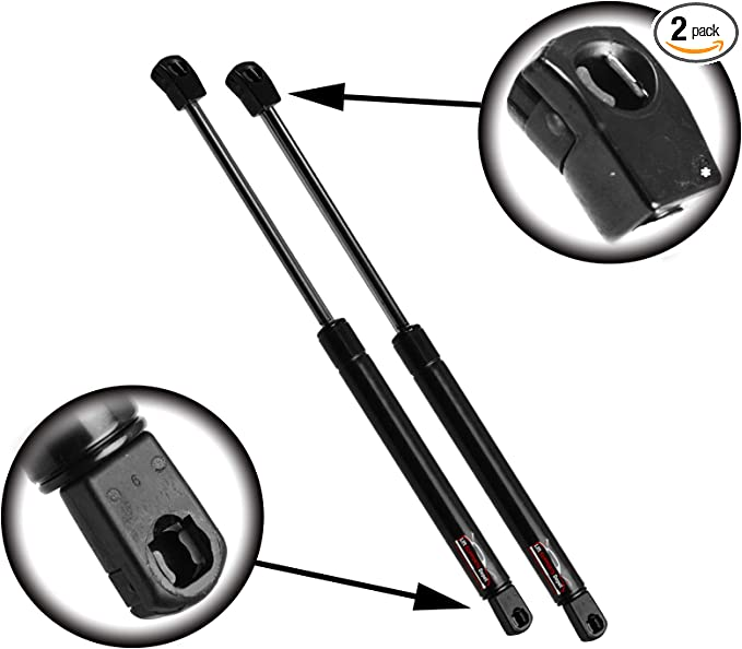 2 Qty StrongArm 4115 Front Hood Lift Supports Struts Strong Arm