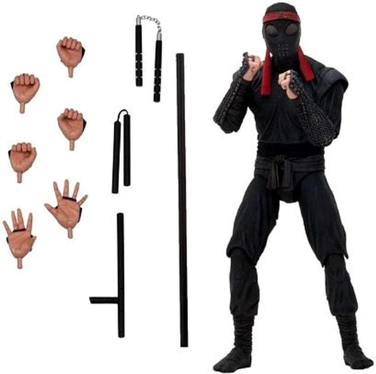 NECA Teenage Mutant Ninja Turtles 1990 Movie 7 in. Foot Soldier Melee Exclusive Figure