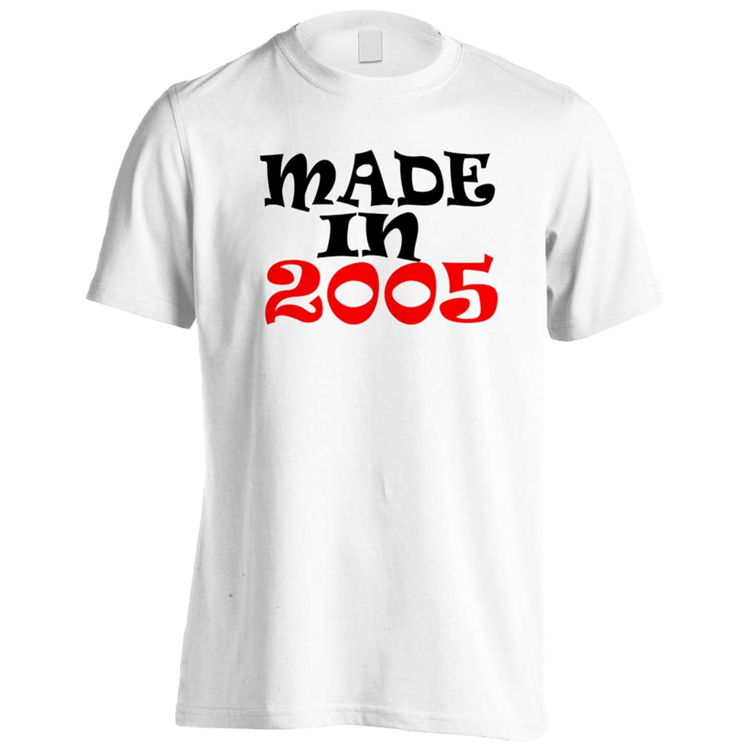 MADE IN 2005 Funny Novelty New Men's T-Shirt Tee i81m