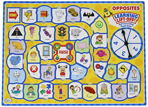Didax Educational Resources Learning Lift-Off! Opposites Game