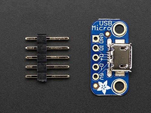 Adafruit USB Micro B Breakout Board product image