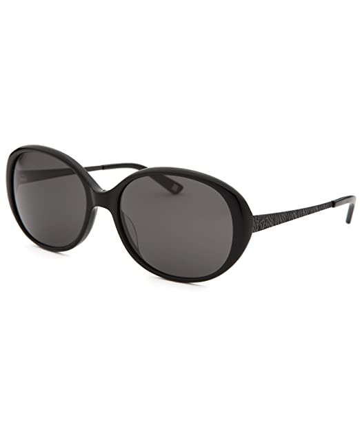 dff25065e7 Anne Klein Ak7000-001-58-17-135 Women s Oval Black Sunglasses  Amazon.ca   Clothing   Accessories