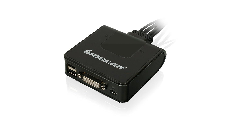 IOGEAR 4-Port 4K UHD DisplayPort Kvmp Switch with USB 3.0 Hub w//Full Set of Cables GCS1904 TAA Compliant