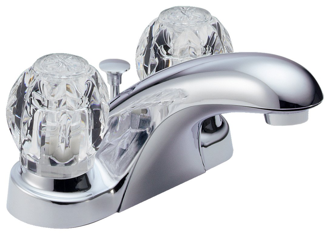 Delta Foundations B2512LF Two Handle Centerset Bathroom Faucet, Chrome by DELTA FAUCET (Image #1)