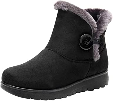 Clearance Womens Winter Button Snow