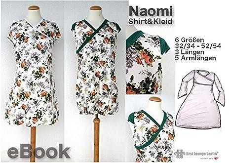 Naomi Nähanleitung mit Schnittmuster für Shirt & Kleid in 6 Größen ...