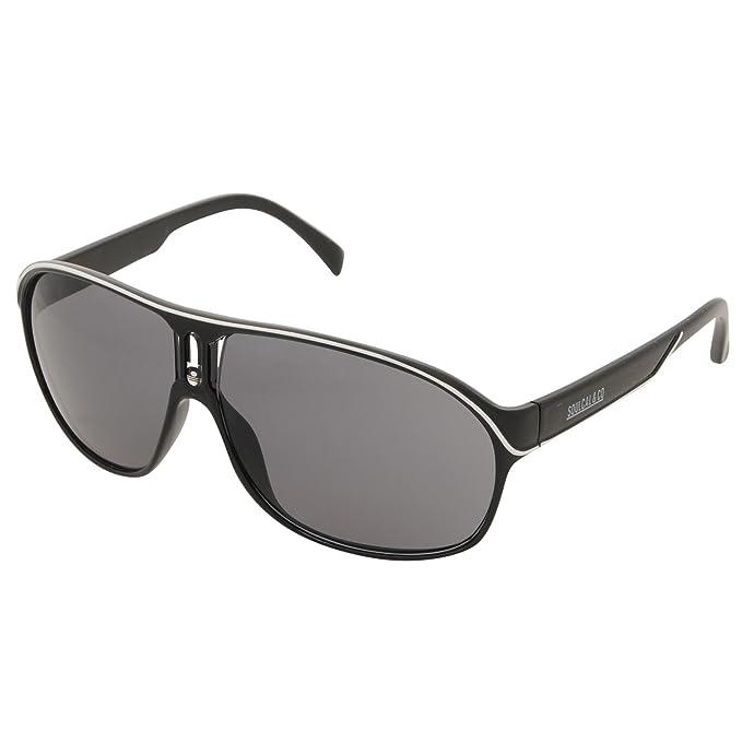 25253f0dad SoulCal para hombre Carter Gafas de sol Aviator Marco Gafas tintadas  accesorios de moda Negro negro/blanco talla única: Amazon.es: Ropa y  accesorios