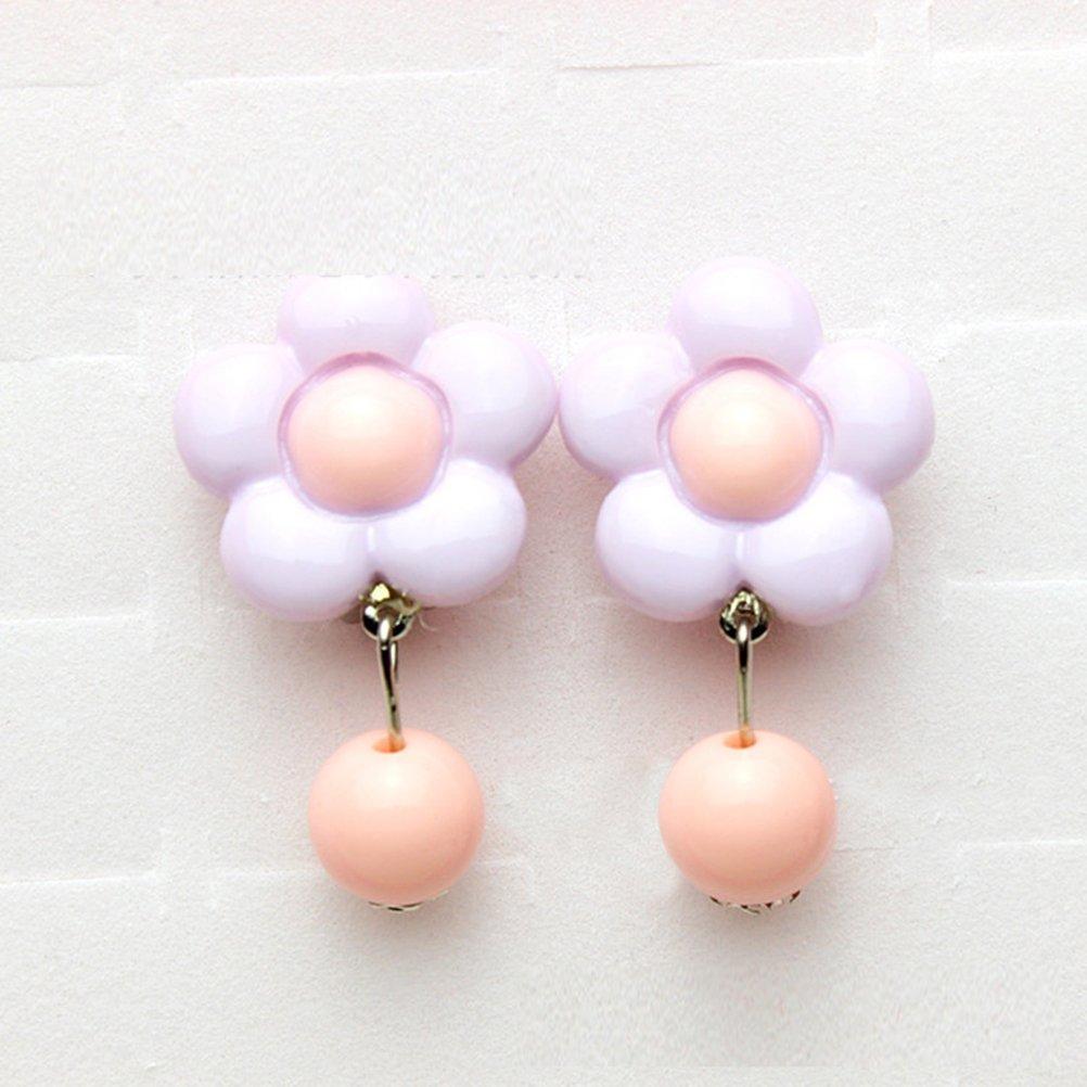 7 paires TOYMYTOY Jouer Boucles doreilles coffret Clip-on boucles doreilles cadeau danniversaire pour les filles Dress-up