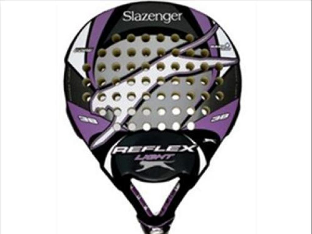Slazenger Reflex Pala, Unisex, Morado/Negro/Gris, 38 mm: Amazon.es ...