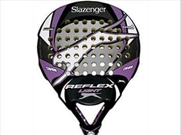 Slazenger Reflex Pala, Unisex, Morado/Negro/Gris, 38 mm: Amazon.es: Deportes y aire libre