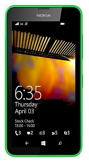 b6ac244173d Nokia Lumia 635 rm-975 desbloqueado GSM LTE Windows 8.1 Quad-core teléfono  - verde: Amazon.com.mx: Electrónicos