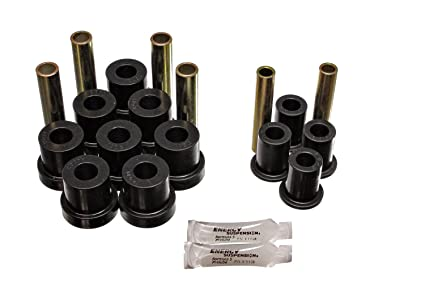Energy Suspension 3 2130G Front Spring and Shackle Bush for GM 4WD