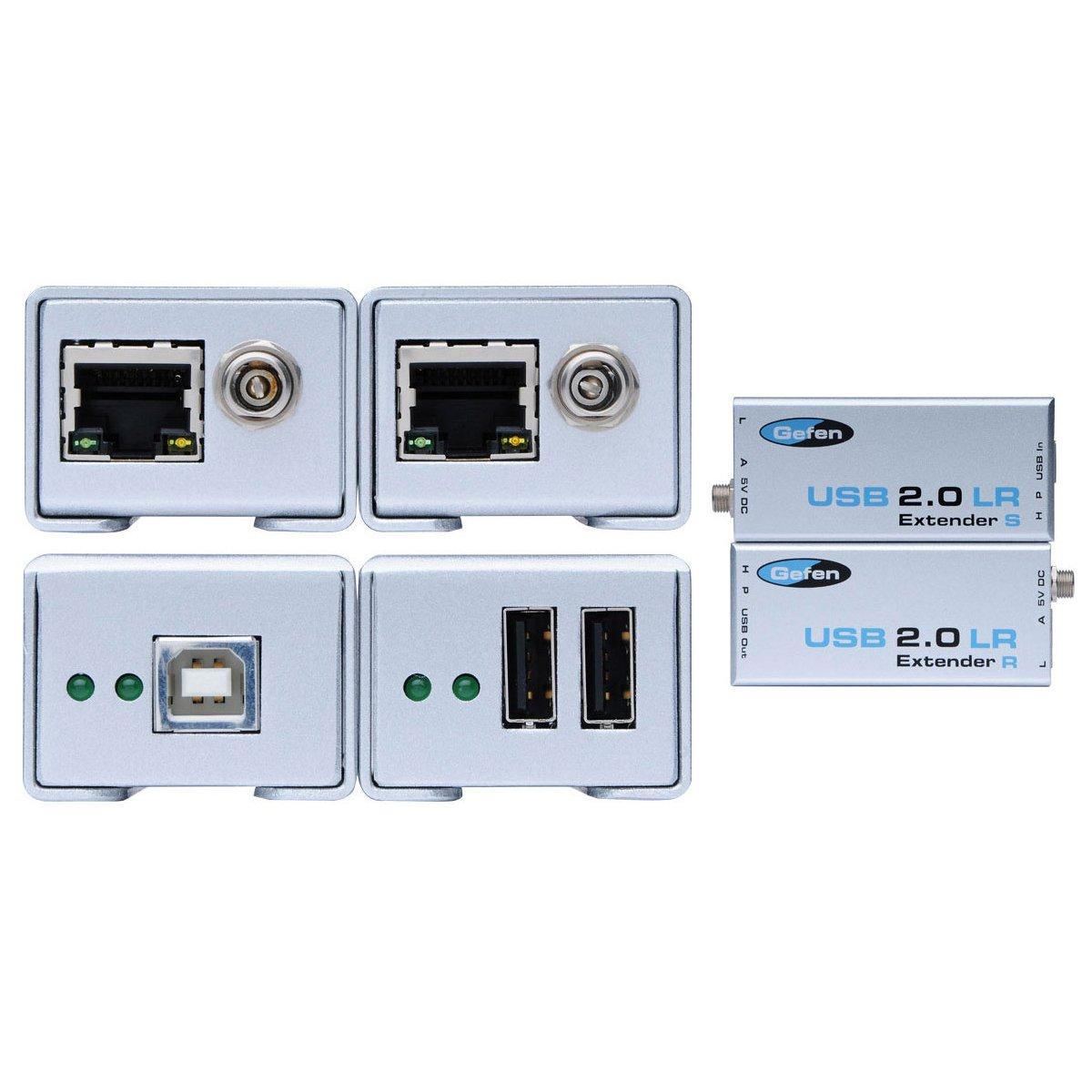 Gefen EXT-USB2-0-LR USB 2.0 Extender by Gefen
