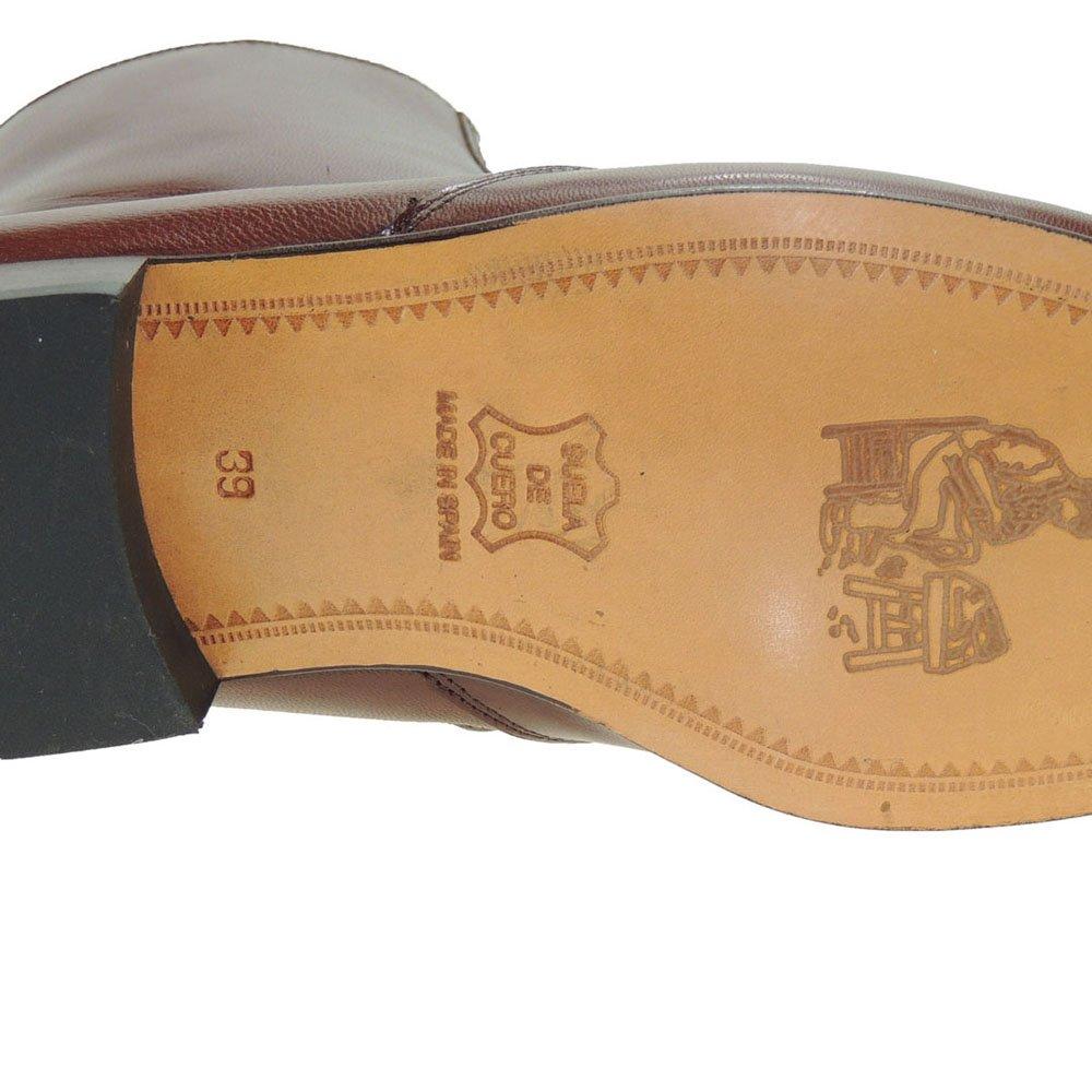 750d020c JYP 1550 Bota Vestir en Piel Caprina Tacón Bajo y Cremallera para Hombre:  Amazon.es: Zapatos y complementos