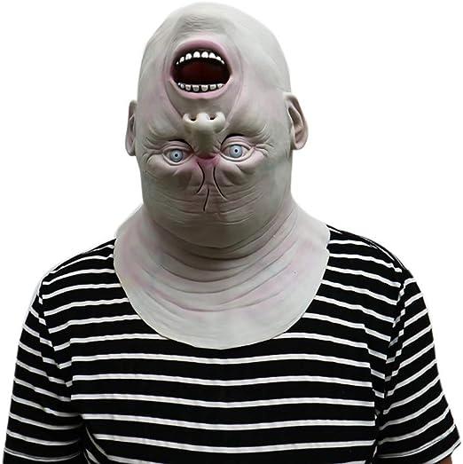 Watopi♥♥♥ Máscara de látex con diseño de Zombi para Halloween ...