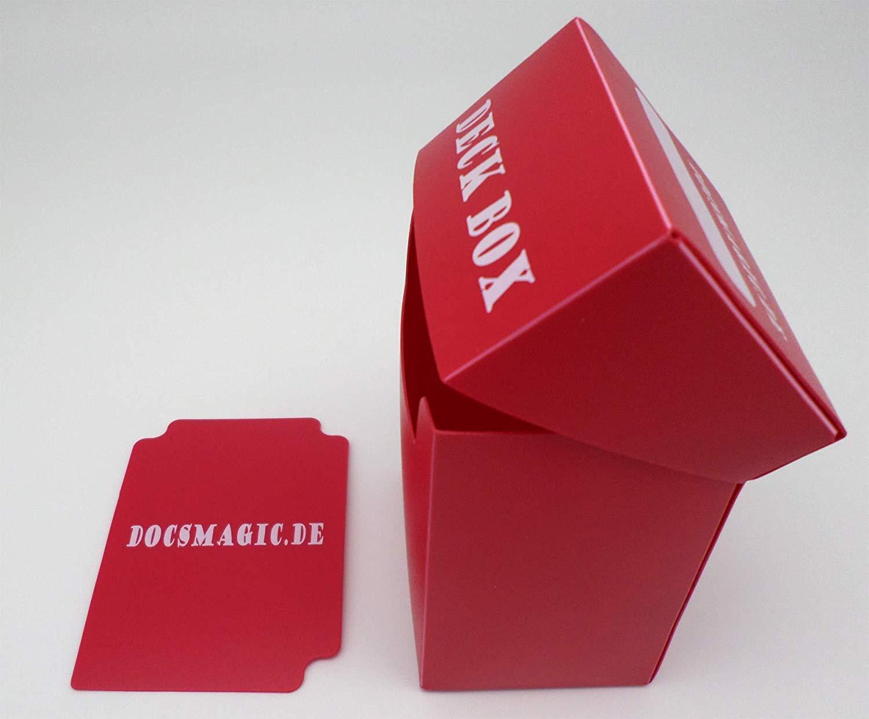 Card Divider Kartenbox Schwarz Pokemon 100+ Yu-Gi-Oh! Magic Black docsmagic.de Deck Box Big