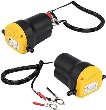 Keenso Oil Diesel Fuel Transfer Pump 250L//Hour DC 12V 60W Oil//Diesel Fluid Pump Extractor Tubes for Auto Car Boat Motorbike Truck RV ATV Jet