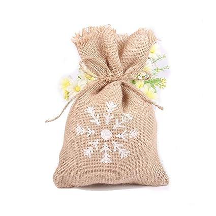 Amazon.com: Saco pequeño – 10 bolsas de regalo rústicas para ...