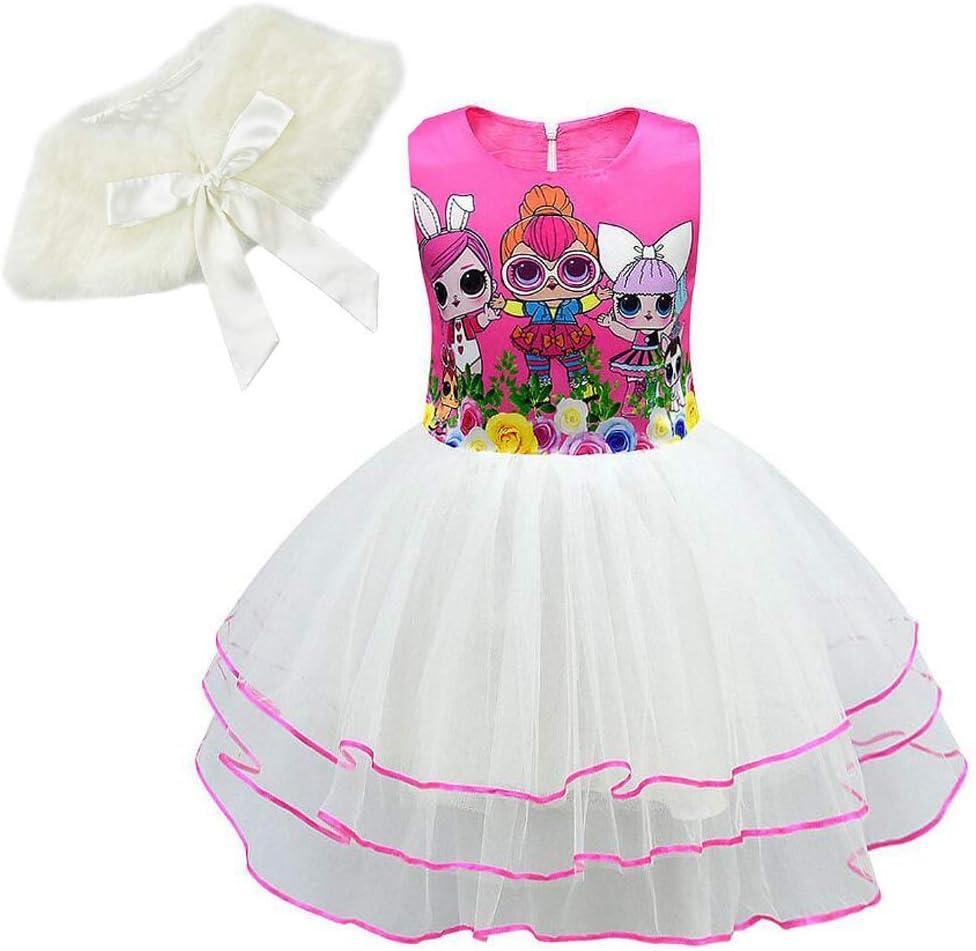 Belle petite princesse rose Châle