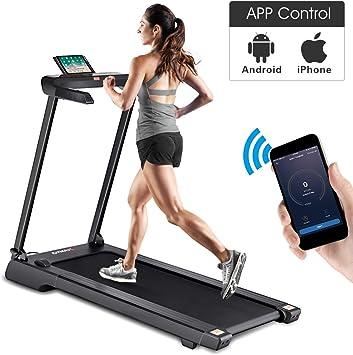 Folding Electric Motorized Treadmill Running Machine Portable Cardio Equipment