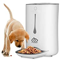 SereneLife Automatic Pet Feeder - Electronic Dogs and Cat Food Dispenser –Programmable...