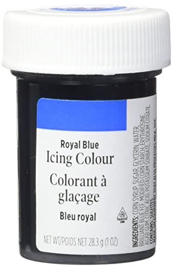 Amazon.com : Wilton 610-655 Icing Gel, 1-Ounce, Royal Blue ...
