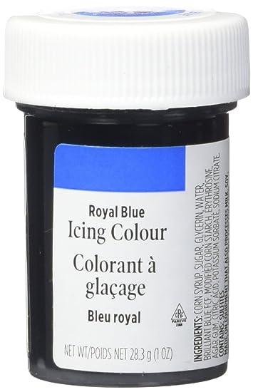 Amazon.com : Wilton 610-655 Icing Gel, 1-Ounce, Royal Blue : Dessert ...