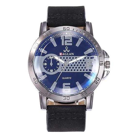 AchidistviQ-Fashion - Reloj de Pulsera analógico de Cuarzo con números  arábigos 59962bcf8c03